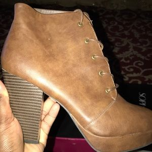 Mossimo Supply Co. Shoes - Brown boots nice for going out